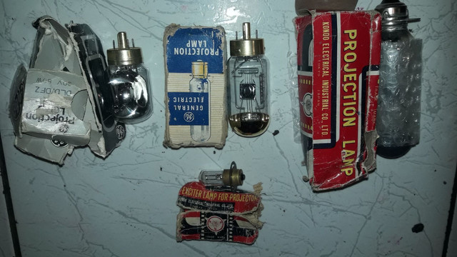 4 lâmpadas para projetores