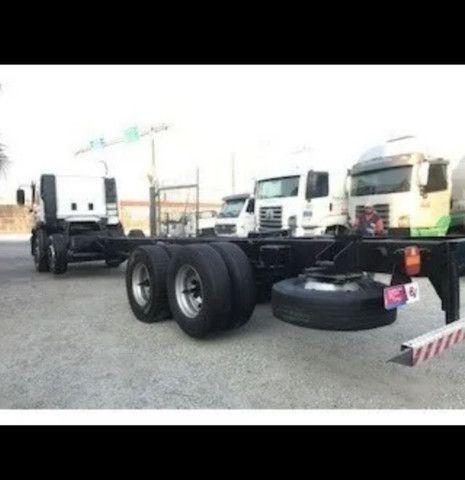 Vw 24250 Cabine Leito Bi Truck 4o Eixo Direcional<br><br> - Foto 10