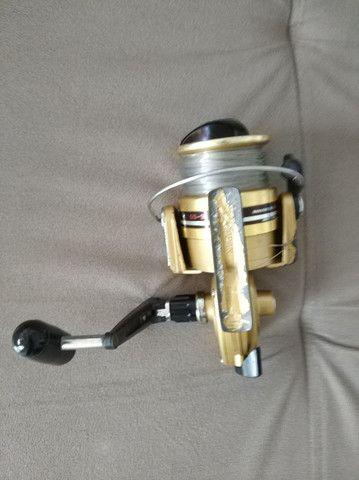 Molinete Daiwa GS 9 Gold ( usado). - Foto 5