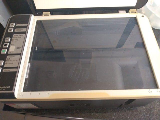 Impressora HP Deskjet F4180 - Foto 4
