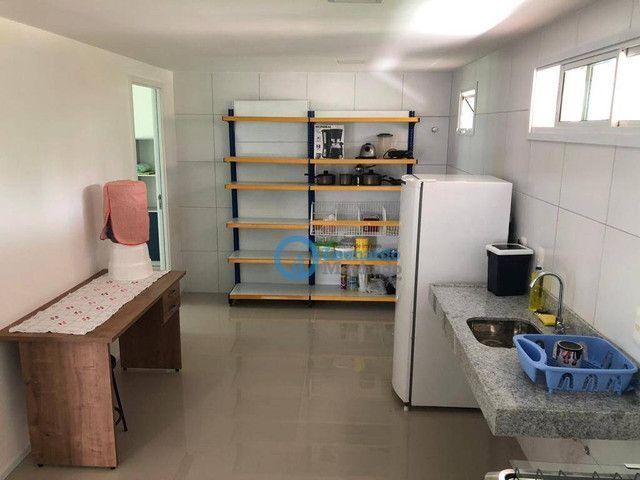 Apartamento com 3 dormitórios à venda, 110 m² por R$ 530.000 - Porto das Dunas - Aquiraz/C - Foto 3