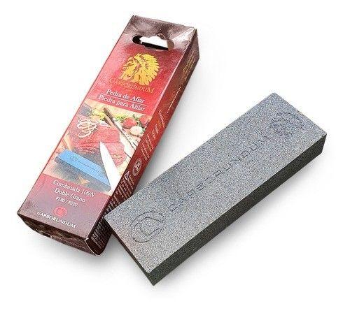 Pedra De Afiar Combinada Carborundum 109n