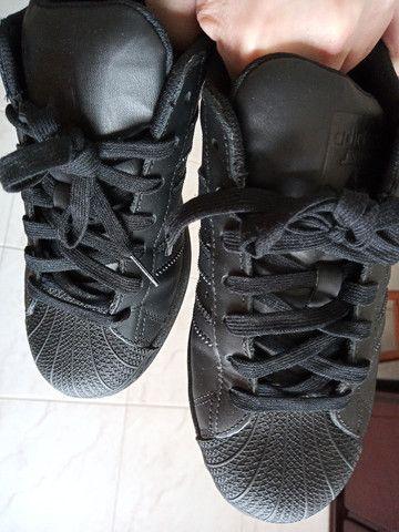 Tênis Couro adidas Originals Superstar  - Foto 4