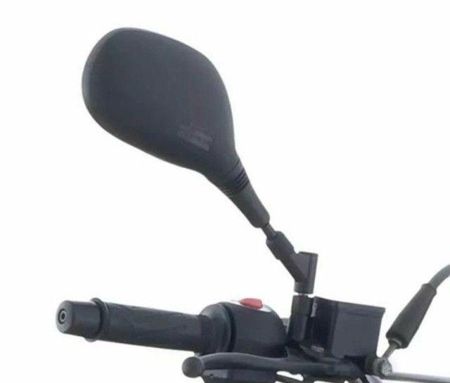 Retrovisor GVS 360° Xt 660 Bros Xre Lander Crosser Xtz Titan fan Bmw F800 - Foto 4