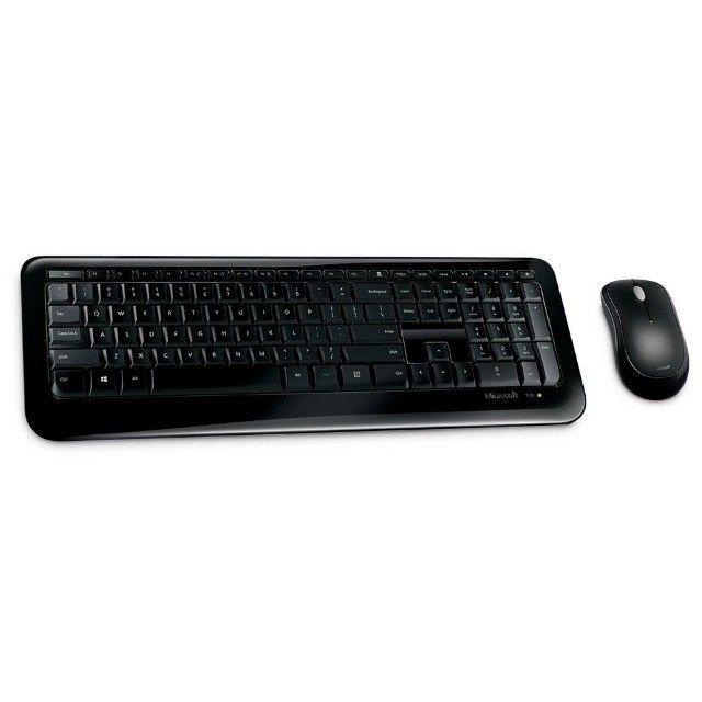 Kit Teclado e Mouse Microsoft Wireless 850 Novo Lacrado garantia - Foto 2