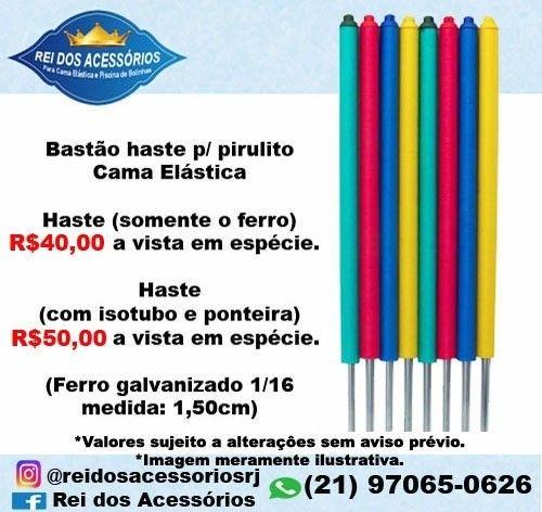 Haste Bastão Pirulito/Haste para pula pula