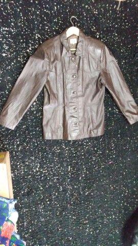 Jaqueta de ouro marrom Tam GG