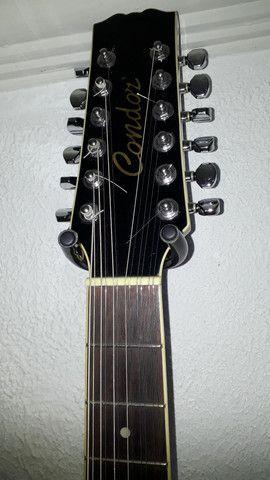 Violao 12 cordas condor - Foto 6