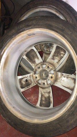 Rodas aro 18 polegadas $1200 FURAÇÃO 5X114 - Foto 4