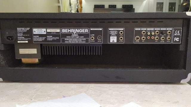 Cabeçote Para Guitarra Behringer V-tone Gmx 1200h - Foto 2