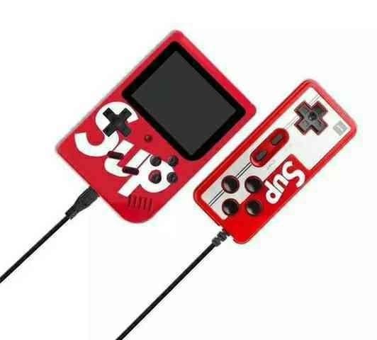 Mini Vídeo Game Portátil 400 Jogos Retro Clássico Controle 2 Jogadores SUP<br><br>Entrega gratis - Foto 4