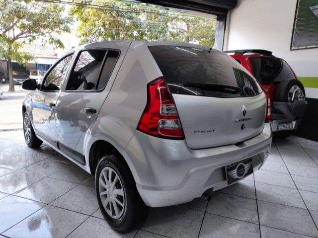 Renault Sandero Expression 1.0 Flex Completo Financia e Troca Excelente Estado - Foto 6