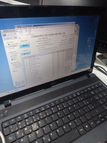 HD 500 giga e 2 memórias 2 gb  - Foto 4