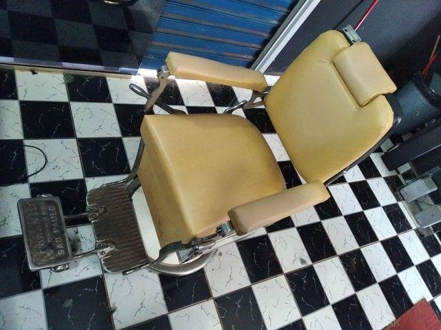 Cadeira ferrante inclinavel modelo 1970  - Foto 5