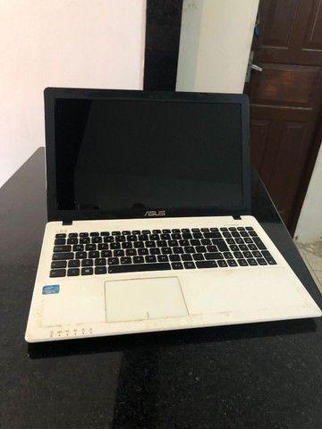 Notebook Asus para retirada de peças