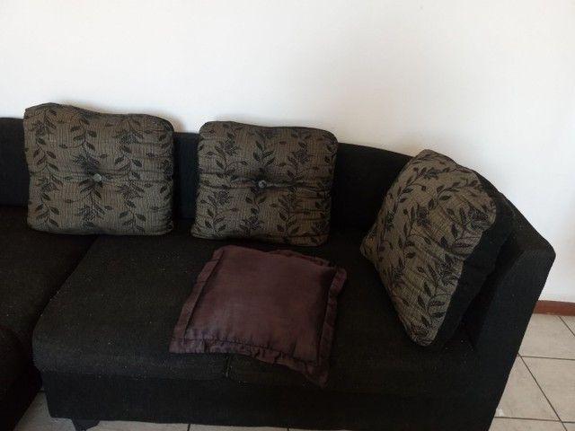 Sofa L semi novo sem avarias 3 e  2 lugares - Foto 2