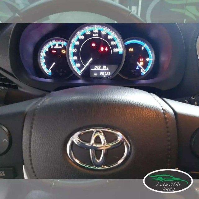 Toyota Yaris live Prata  2019/2020 Completo  - Foto 7