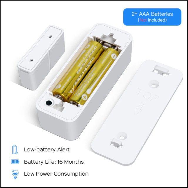 Sensor Inteligente Wifi Porta Janela Alexa Google Home Ds06 - Foto 3