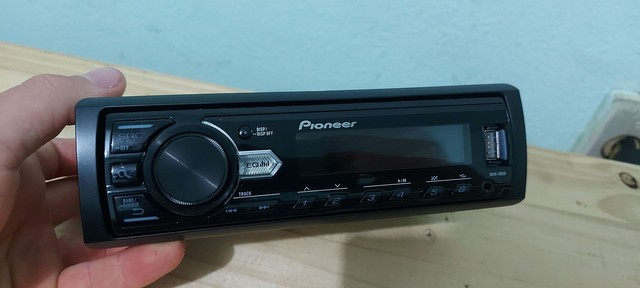radio pioneer usb cd  radio e auxiliar - Foto 2