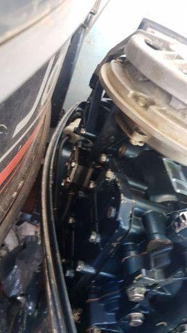 Motor yhamaha enduro 25 hp,todo revisado . Oportunidade ùnica - Foto 2