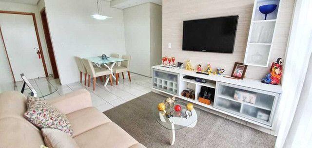 44 Apartamento no Bairro dos Noivos 71m² com 03 quartos, todo mobiliado!(TR55717) MKT - Foto 2