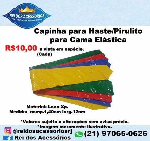 Capinha p/Haste Pirulito Pula pula Cama Elástica - Foto 2