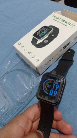 Smartwatch D20 Y68 novo na caixa - Foto 2