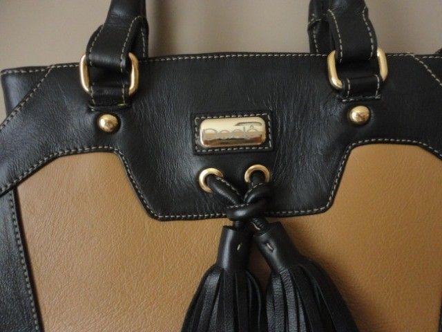 Bolsa feminina em couro legítimo - conservadíssima - Foto 3