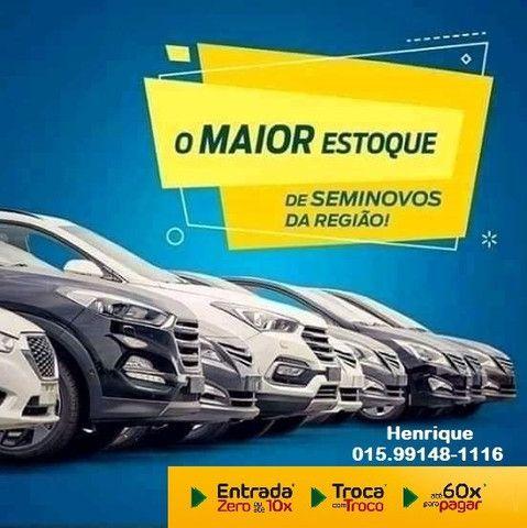 2020 Saveiro Completa Flex TOP!! Espetacular!! HenriCar Troca & Financia até 60x UK8 - Foto 5
