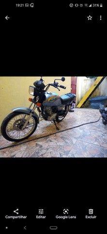 Moto CG 125 em dias com todos os Documentos - Foto 5