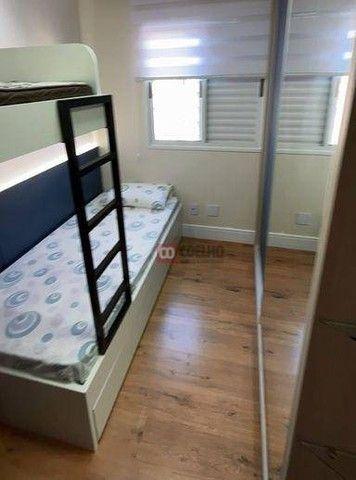 Apartamento Luxuoso Totalmente Mobiliado, 2 Quartos com Suíte em Condomínio Clube - Bairro - Foto 9