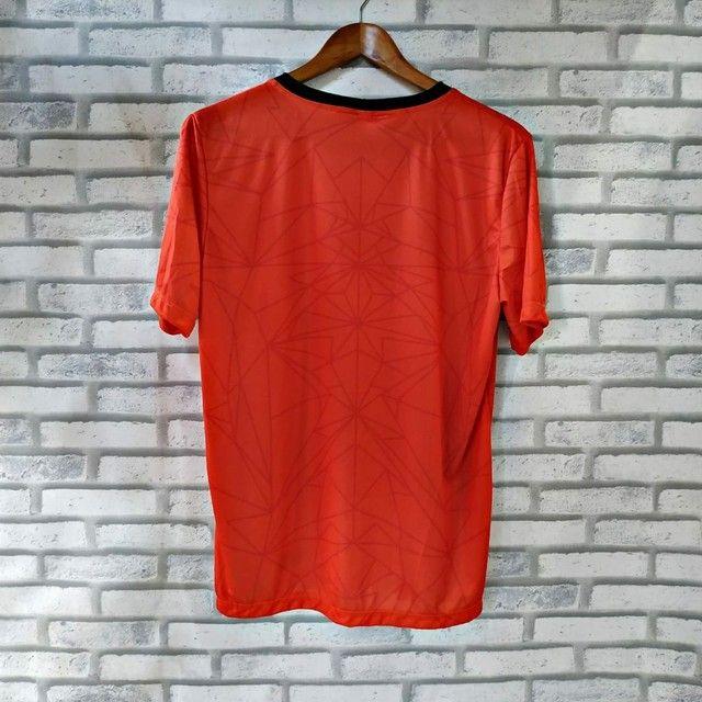 Camisa de time DRY-FIT de boa qualidade do P ao GG - Foto 4