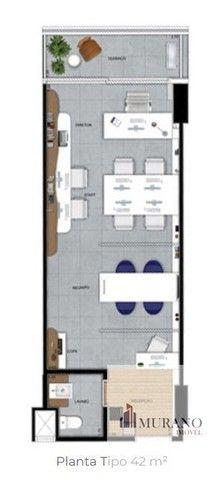 Sala/Conjunto para venda com 42 metros quadrados em Valongo - Santos - SP - Foto 9