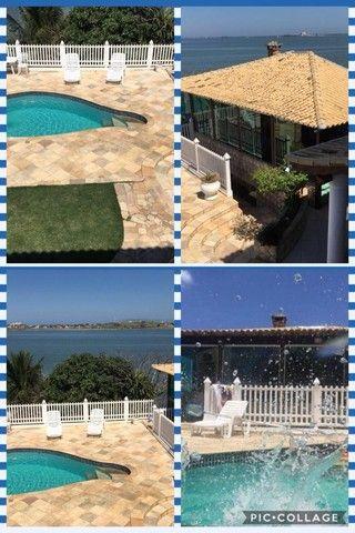 Casa estilo mansão, vista cinematográfica da Lagoa de Araruama de todo o imóvel - Foto 14