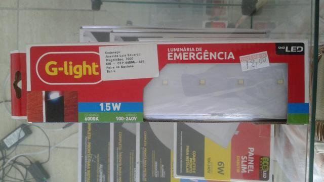 Luminária de emergência 18,00
