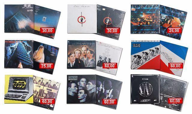LPs de música - Vinil