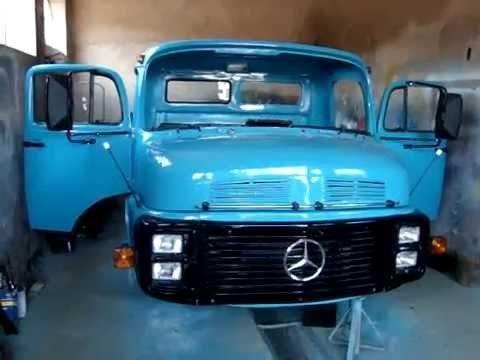Procuro cabine de caminhão MB 1113 azul