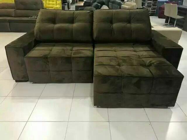 Sofa retrátil e reclinável 2.50