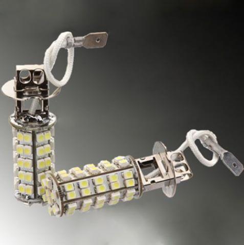 Lâmpada Modelo H3 Com 68 Leds 3528 Super Branca 5500k valor unitario - Foto 4