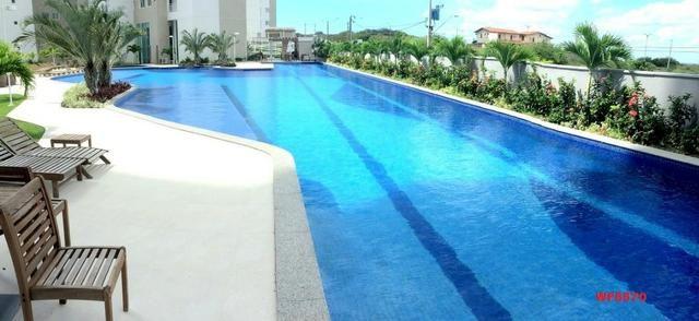 Living Resort, Santorini, 145m², 3 suítes, gabinete, 3 vagas, vista mar, lazer completo - Foto 13