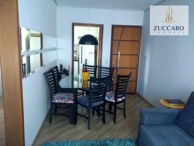 Apartamento com 2 dormitórios à venda, 54 m² por r$ 285.000,00 - vila sirena - guarulhos/s - Foto 3