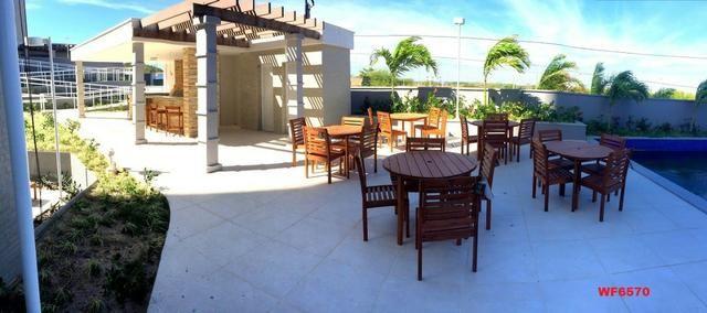 Living Resort, Santorini, 145m², 3 suítes, gabinete, 3 vagas, vista mar, lazer completo - Foto 16