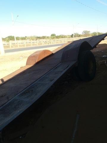 Carretao agrícola 6.10 metros penel duplo