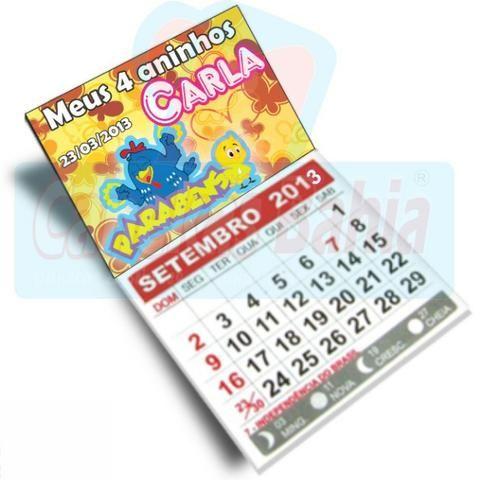 Imãs com calendário 2020 - Foto 4