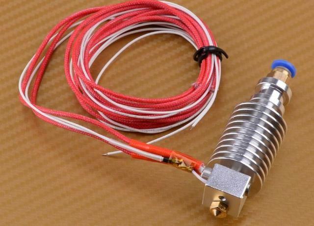 COD-CP296 J-head Cabeça V5 Impressora 3d Bowden Extrusora Hotend 1.75