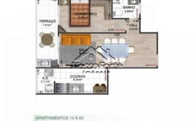Lançamento Apartamento de frente para o mar no Jardim Real em Praia Grande - Foto 4
