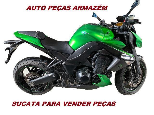 Kawasaki z1000 sucata para vender peças usadas - Foto 2