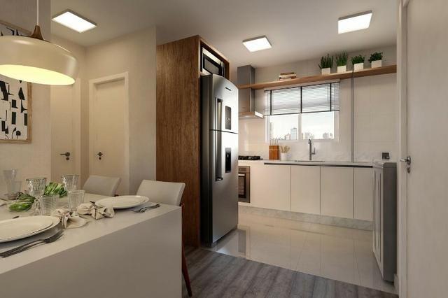Apartamento em araucária condomínio clube, excelente região - Foto 4