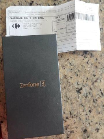 Asus zenfone 3 com nf (novíssimo)