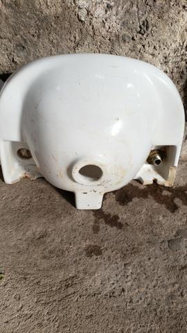 Pia para banheiro em porcelana - Foto 4
